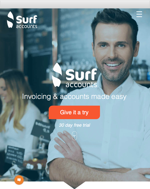 Find out more about Surf Accounts